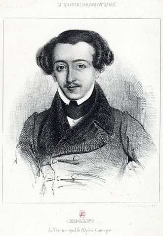 Théâtre Lyrique - Chollet in 1840