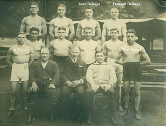Jean Delarge - Jean deluge gold medal boxing olympics 1924Fernand Delarge Champion d'europeA Genon Champion d'Europe Welter