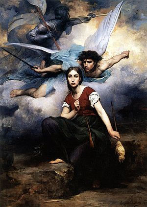 Jeanne d' Arc, by Eugene Thirion (1876). Late ...