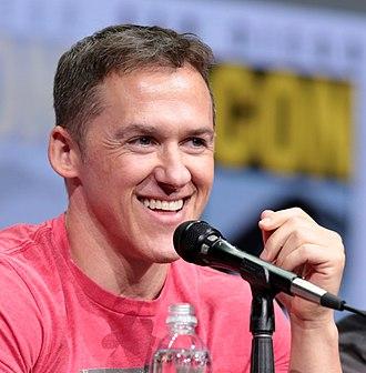 Jeff Davis (writer) - Davis at the 2017 San Diego Comic-Con