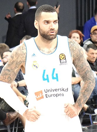 Jeffery Taylor - Taylor with the Real Madrid in November 2017.