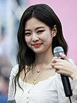Jennie at a fansigning event on June 24, 2018.jpg