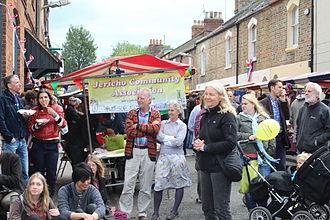 Canal Street, Oxford - Jericho Street Fair, held in Canal Street each June.