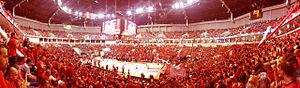 Pais Arena Jerusalem - Jerusalem Payis Arena during the 2015 playoff final