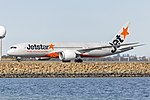 Jetstar Airways (VH-VKI) Boeing 787-8 Dreamliner at Sydney Airport (2).jpg