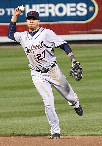 Jhonny Peralta - Peralta with the Detroit Tigers in 2011