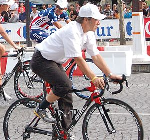 Jim Ochowicz - Jim Ochowicz at the Tour de France, 2010