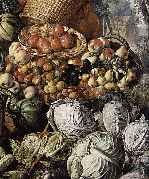File:Joachim Beuckelaer - Market Woman with Fruit, Vegetables and Poultry (detail) - WGA02120.jpg