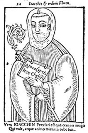 Joachim of Fiore - Joachim of Flora, in a 15th-century woodcut.