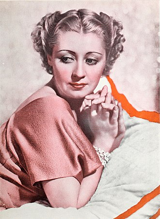 Joan Blondell - Joan Blondell featured in the August 1936 edition of Photoplay Magazine