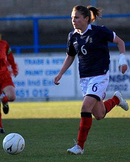 Joanne Love Scottish footballer