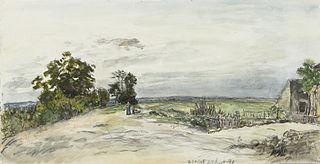 Landschap bij Nevers
