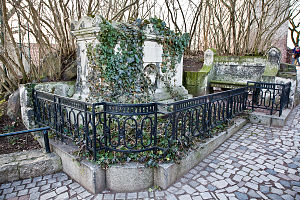 Johann Christian Reil - Reil's tomb on the Reilberg in Halle (Saale), Germany, today Bergzoo Halle