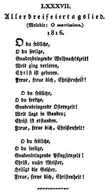 O Tannenbaum Latein.O Du Fröhliche Wikipedia