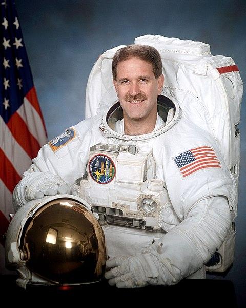 Astronaut John Grunsfeld, NASA photo Source: Wikipedia 480px-John_Grunsfeld.jpg