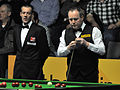John Higgins and Olivier Marteel at Snooker German Masters (DerHexer) 2013-01-30 02.jpg