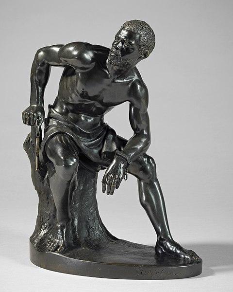 File:John Quincy Adams Ward, The Freedman, 1863, Bronze.jpg