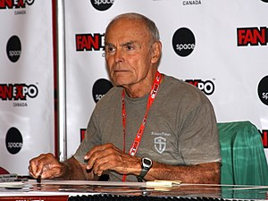John Saxon - Saxon at the 2014 Fan Expo Canada
