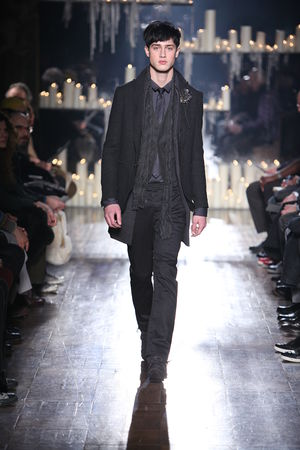 John Varvatos - Model wearing items from the John Varvatos Collection of Fall/Winter 2010/11