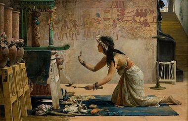 Commentario alla sezione  380px-John_Weguelin_-_The_Obsequies_of_an_Egyptian_Cat_-_Google_Art_Project