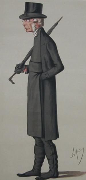 John Colenso - John William Colenso, by Carlo Pellegrini, 1874.