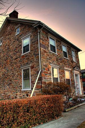Wormleysburg, Pennsylvania - 2007 photo of the John Wormley House.