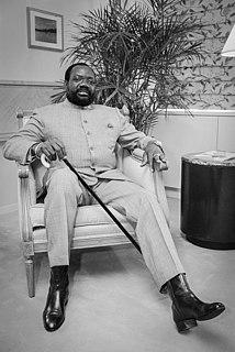 Jonas Savimbi Angolan political and military leader