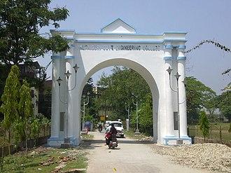 Jalpaiguri Government Engineering College - Jolu Toron-The gateway of JGEC