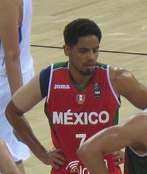Jorge Gutiérrez (basketball) - Gutiérrez with Mexico in 2014