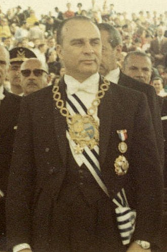 Vice President of Uruguay - Image: Jorge Pacheco Areco