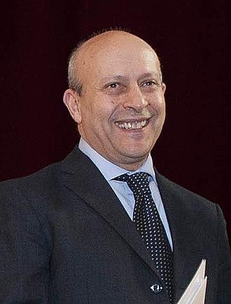 José Ignacio Wert - José Ignacio Wert in 2012
