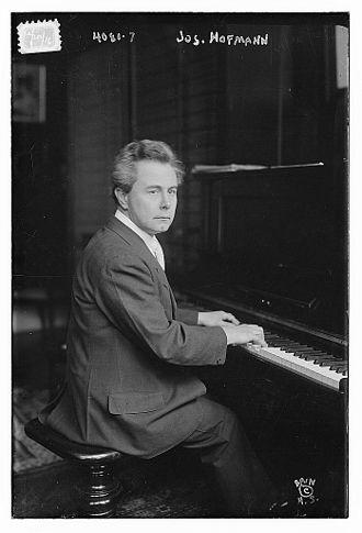 Josef Hofmann - Hofmann in 1916