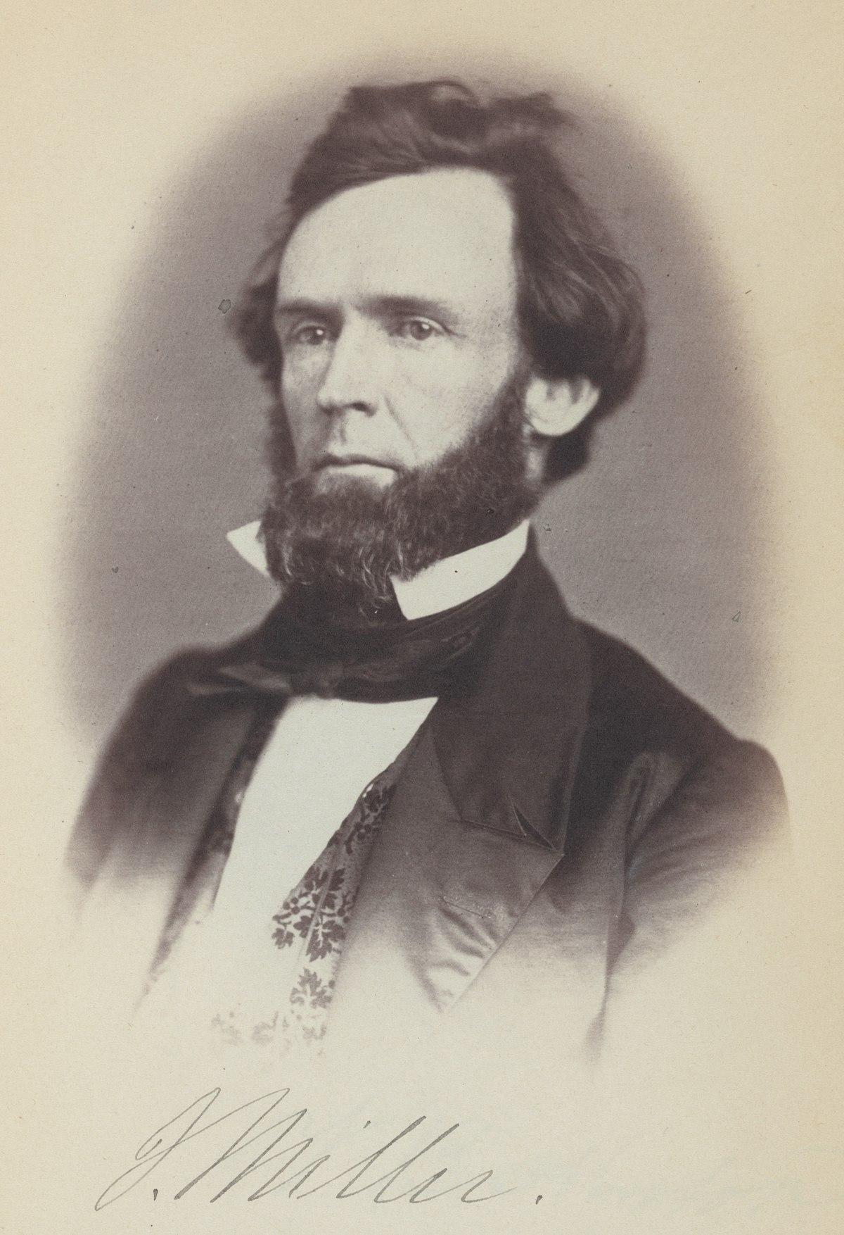 University Of Virginia Law >> Joseph Miller (Ohio politician) - Wikipedia