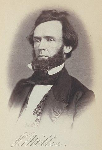 Joseph Miller (Ohio politician) - in 35th Congress