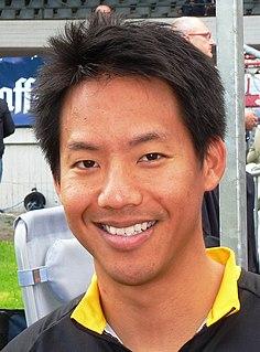 Josiah Ng Malaysian cyclist