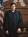Judge Wm F Downes portrait painting by Michele Rushworth.jpg