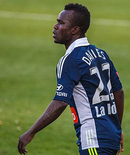 Julius Davies Sierra Leonean-Australian soccer player