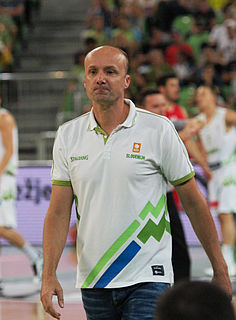 Slovenia basketball player