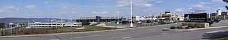 Wilkes-Barre/Scranton International Airport - Image: KAVP pano