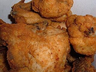 KFC Original Recipe Blend of ingredients used in KFC fried chicken