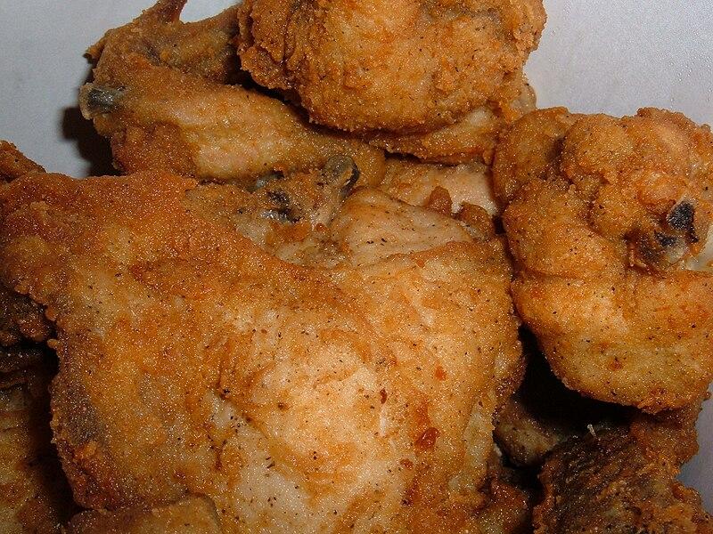 File:KFC Original Recipe chicken in bucket.jpg