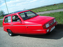 3 Wheel Car >> Reliant Robin Wikipedia