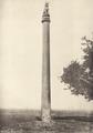 KITLV 87910 - Unknown - Asoka pillar at Lauriya-Nandagarh in British India - 1897.tif