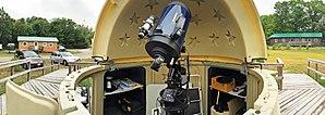 Killarney Provincial Park Observatory - Interior of the Killarney Provincial Park Observatory