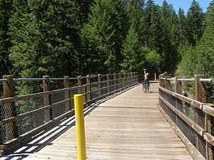 Kettle Valley Rail Trail - KVR Bridge over the West Kettle River