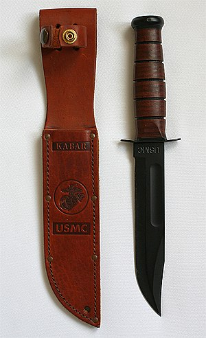 Fighting knife - U.S. Marine KA-BAR Knife