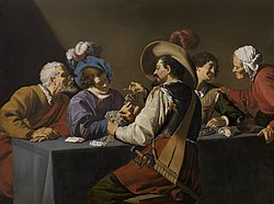 Theodoor Rombouts: Card Players