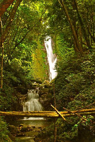 Landmarks of the Philippines - Image: Kabigan Waterfalls in Pagudpud, Ilocos Norte