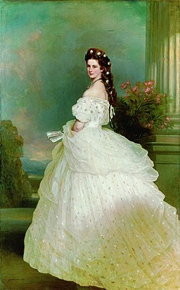 Kaiserin Elisabeth - Franz Xaver Winterhalter, 1865