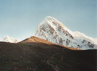 Kala Patthar - Kala Patthar with Pumori in the background